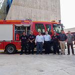 Presentación de un nuevo vehículo del Servicio contra Incendios y Salvamento de Albacete