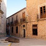 Imagen de una de las calles del casco histórico de la localodad bonillera.