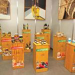 Stand de productos ecológicos expuestos en el I Congreso de Gastronomía celebrado en Albacete.