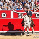 Sergio Galán - Su primer toro - Corrida 10-09-17