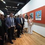 Inauguración de la Exposición de Carteles de José Antonio Lozano en el stand del Ayuntamiento de Albacete en la Feria. Foto: La Cerca - Manuel Lozano Garcia