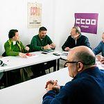 Reunión PSOE-CCOO Guadalajara.