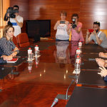 Comité de negociación de Cs y PSOE C-LM.