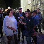Cierre de le Puerta de Hierros de la Feria de Albacete 2019. Foto: Manuel Lozano Garcia / La Cerca