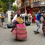 Presentación XXX Festival de la Rosa del Azafrán - Plaza Constitución Albacete - 21-10-17