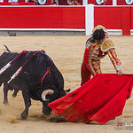 Miguel Ángel Perera - Su primer toro corrida Feria Taurina de Albacete - 14-09-17