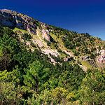 En el monte de Los Palancares (en la imagen) se encuentra la mayor concentración de torcas del Sistema Ibérico Meridional.