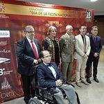 Llanos Navarro y Federico Pozuelo asisten al IV Concierto 'Día de la Fiesta Nacional'