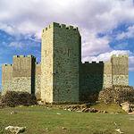 Reconstrucción virtual del castillo de Alarcos.