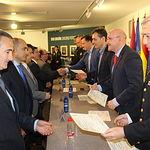 Entrega de diplomas a los participantes en el XI Curso de Especialización de Delegados Gubernativos de Plazas de Toros.