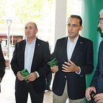 Inauguración del 'Escenario Abierto' de Globalcaja