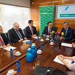 Firma de un convenio en materia financiera entre ADECA y Caja Rural Castilla-La Mancha