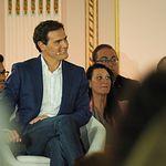 Albert Rivera en un acto público de Ciudadanos (Cs) en Albacete.