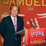 El ganadero Samuel Flores, presidente de Honor de los Premios Samueles, en la edición 2008.