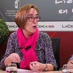 Amparo Villar del Saz. Secretaria de la Asociación de Vecinos Barrio San Antonio Abad