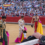 Feria taurina Albacete - Terna corrida.