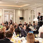 Paco Núñez asiste al desayuno informativo organizado por Europa Press con Pablo Casado.