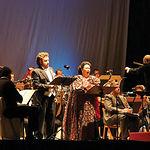 Actuación de Montserrat Caballé, el pasado 17 de septiembre, en la Academia de Infantería de Toledo, con motivo de uno de los actos organizados para conmemorar el IV Centenario.
