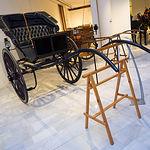 """Exposición de carruajes de Juan Martínez con el nombre """"Restaurar la Memoria"""""""