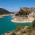 Embalse de la Fuensanta, en el término municipal de Yeste, Albacete.