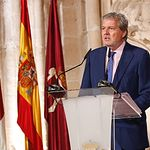 Iñigo Méndez de Vigo en la entrega de los Premios Nacionales de Cultura.
