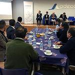 La Asociación de Empresarios de Campollano ha celebrado un nuevo Desayuno Empresarial basado en el 'Nuevo Reglamento Europeo de Protección de Datos'