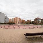 Parque del Quijote en el barrio San Antonio Abad de Albacete