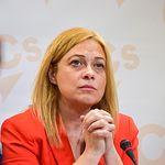 Carmen Picazo, portavoz de Ciudadanos en las Cortes de Castilla-La Mancha y diputada por Albacete.