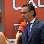 """Alfonso Ortega, jefe de Zona de Caixabank, durante el III Fórum """"Castilla-La Mancha de Cerca"""" organizado por el Grupo Multimedia de Comunicación La Cerca."""