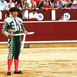 Javier Esperanza, de la cuadrilla de Antón Cortés, obtuvo el Premio Samueles a la mejor faena realizada por un Subalterno.