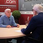 José María Roncero, presidente de la Unión de Consumidores de España (UCE) en Albacete, junto a Manuel Lozano, director del Grupo Multimedia de Comunicación La Cerca