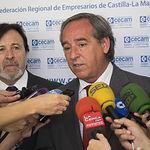 Ángel Nicolás en la Asamblea General Ordinaria de Cecam