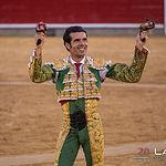 Feria taurina Albacete - Emilio de Justo - Su segundo toro.