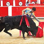Rubén Pinar - Su primer toro-4 - Feria Taurina Albacete - 14-09-16 - Para web