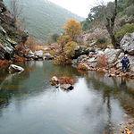 Foto boquerón del Río Estena, en el Parque Nacional de Cabañeros