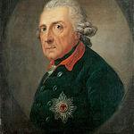 Federico II de Prusia. Lienzo. Archivo.