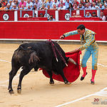 Octavio Chacón - Su primer toro - Feria Taurina 08-09-18