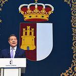Acto de toma de posesión del nuevo Gobierno de Castilla-La Mancha. (Foto: José Ramón Márquez // JCCM).