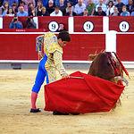Rubén Pinar - Su segundo toro-4 - Feria Taurina Albacete - 14-09-16 - Para web