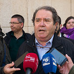 Juan Miguel Rodríguez, cabeza de lista al Senado por Unidas Podemos en Albacete