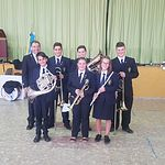 Asociación Musical Virgen del Rosario de Alatoz. Fotos: Isabel Tendero.