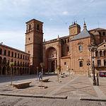 Plaza Mayor de Villanueva de los Infantes (Ciudad Real).