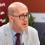 Francisco Pérez, presidente de Cruz Roja en Albacete.
