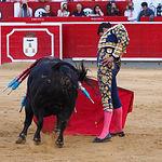 José María Manzanares - Su segundo toro - Feria Albacete - 16-09-16