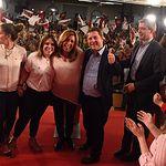 Acto de campaña de Susana Díaz en Toledo.