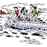 Ilustración de Veleriano Belmonte
