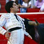 José Garrido - Primer toro - Feria Taurina de Albacete 2017 - 12 de septiembre. Foto José María Mondejar