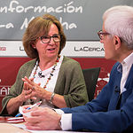 Tina Gallardo, voluntaria de Mayores y Vicepresidenta del Comité Local de Cruz Roja Albacete