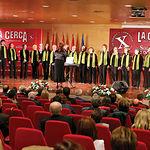 El Coro Universitario de Albacete amenizó la gala con un bonito repertorio de canciones variadas.