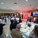 El ganadero Samuel Flores en la Gala de entrega de los XI Premios Taurinos Samueles correspondientes a la Feria de Taurina de Albacete 2016